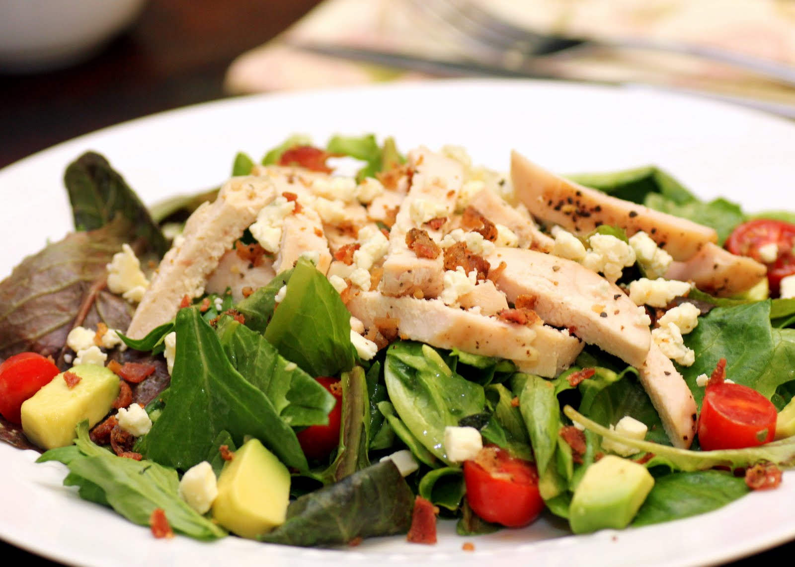 Un-Cobb Salad Recipe — Dishmaps